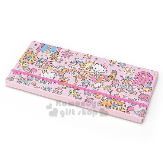 〔小禮堂〕Hello Kitty 日製盒裝36色鉛筆《迷你.粉.房間.玩具》 4901610-55573