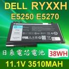 DELL 戴爾 RYXXH 日系電芯 電池 ENP575577A1 Latitude 12 5000 E5250 E5450 E5550 E5270
