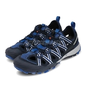 Merrell 戶外鞋 Choprock Shandal 藍 灰 男鞋 越野 登山 休閒鞋 【ACS】 ML033541