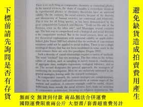 二手書博民逛書店New罕見Frontiers in Comparative So