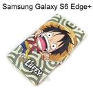 海賊王皮套 [R02] Samsung G9287 Galaxy S6 Edge Plus 航海王 魯夫【台灣正版授權】