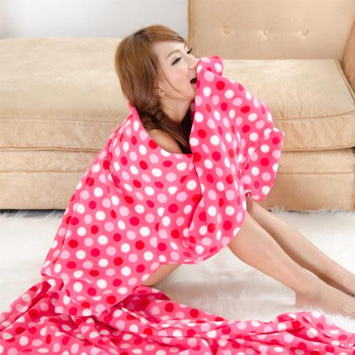 《 3C批發王 》立體印花袖毯*100%高級搖粒絨懶人毯 不起毛球 台灣製造 可直接水洗 發熱纖維