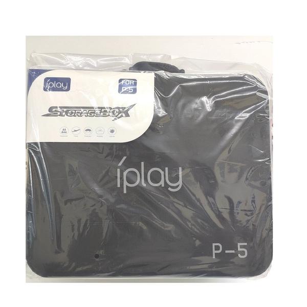 【現貨】IPLAY PS5 硬殼主機收納包 雙搖桿收納外出包 手提側背收納包 收納盒