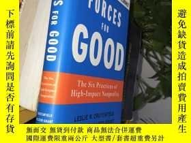 二手書博民逛書店Forces罕見for Good:The Six Practices of High-Impact Nonprof