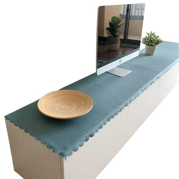時尚可愛空間餐桌布 茶几布 隔熱墊 鍋墊 杯墊 餐桌巾桌旗571 (48*120cm)