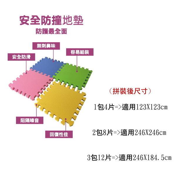 *美馨兒* 3M 安全防撞地墊/安全地墊(2色可挑) 4片/包X 3組 4990元