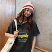 韓版 基本款 上衣M-2XL 8037#實拍 短袖t恤女印花1F037.1號公館