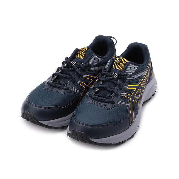 ASICS TRAIL SCOUT 2 4E寬楦越野跑鞋 丈青黃 1011B182-400 男鞋