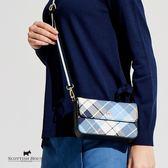 肩背/腰包兩用式格紋小包 Scottish House【AG6401】