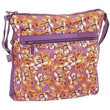 Backbager 背包族【比利時Hedgren】限量 花朵圖騰系列 輕便 斜背包/側背包/隨身包/方包 橘色