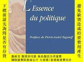 二手書博民逛書店L essence罕見Du PolitiqueY364682 Julien Freund Dalloz 出版