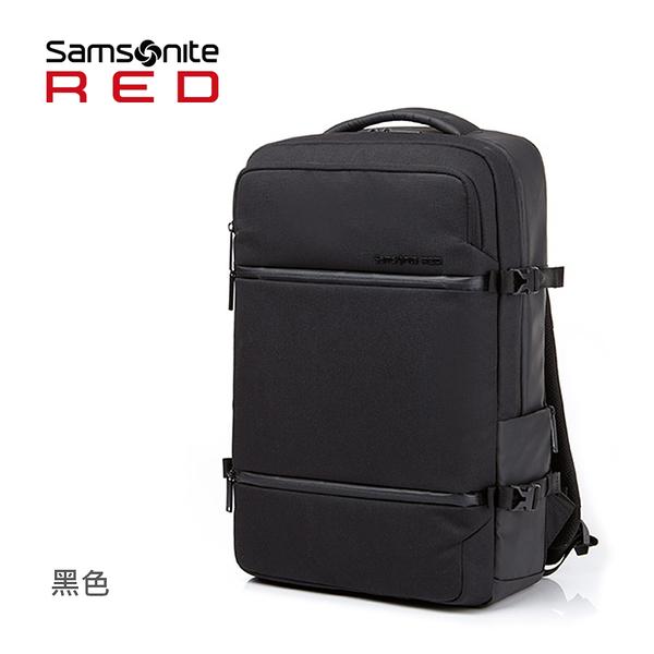 Samsonite RED 新秀麗【CARITANI DQ4】 實用大容量 出差出遊 高CP值推薦 15.6吋筆電後背包