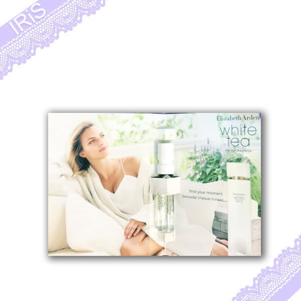 雅頓 Elizabeth Arden 白茶香水white tea 1.5ml  (2017年5月新品) 噴式/支針管小香 [ IRiS 愛戀詩 ]