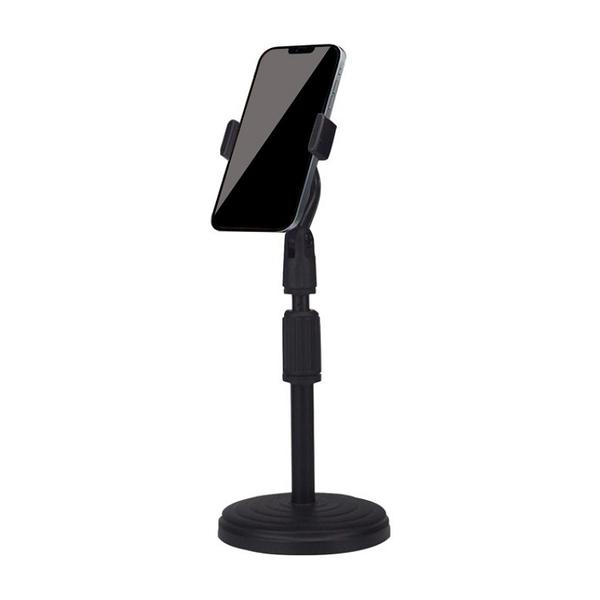 可伸縮式手機支架 底座穩固防滑 手機架 懶人支架 手機直播架 直播支架 手機座 桌面支架