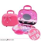 女孩公主彩妝盒玩具 蝴蝶結手提化妝箱