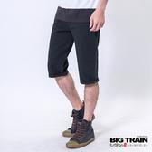 Big Train 舒活斜紋短褲-鐵灰-B5011385