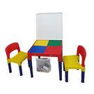 DELSUN 8601W-3 白板積木桌...