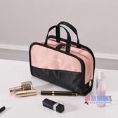 化妝包 ins化妝包小號便攜正韓簡約大容量化妝盒少女心化妝品收納袋【快速出貨】