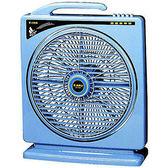 【中彰投電器】嘉麗寶(10吋)手提式冷風箱扇,SN-1005【全館刷卡分期+免運費】
