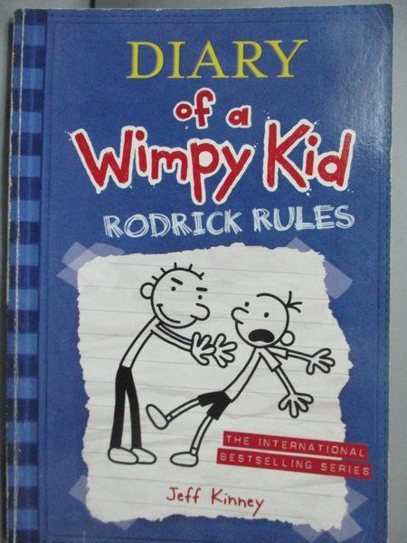 【書寶二手書T7/語言學習_JED】Diary of a Wimpy Kid2-Rodrick Rules_Jeff K