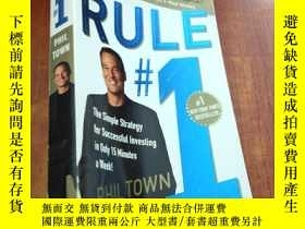 二手書博民逛書店Rule罕見#1:The Simple Strategy for Succesful Investing in O
