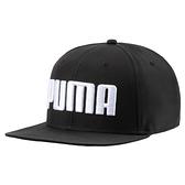 Puma 黑色 帽子 運動帽 老帽 遮陽帽 六分割帽 經典棒球帽 運動帽 蓋帽 02146001