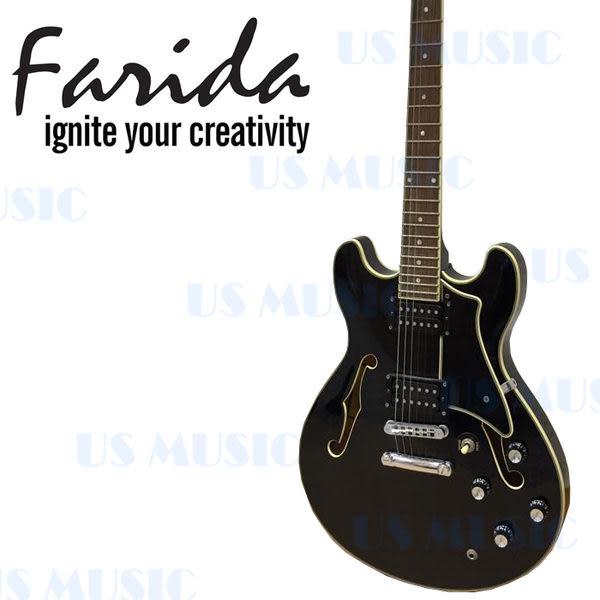 【非凡樂器】法麗達【Farida】SA16MP 黑色爵士電吉他SA16-MP/原廠全附件/原廠袋