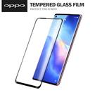 OPPO Reno5/6pro (5G)鋼化玻璃膜手機保護貼 滿版3D曲面 全膠全靜電熱彎曲 無孔指紋解鎖版 9H硬度