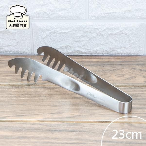 理想牌316不銹鋼撈麵夾食物夾23cm烤肉夾菜夾-大廚師百貨