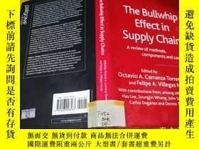 二手書博民逛書店The罕見Bullwhip Effect in Supply Chains:A review of methods