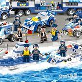 樂高積木 匹配樂高積木男孩子拼裝玩具益智6-7-8-10歲兒童城市警察特警系列 LN4772【Sweet家居】