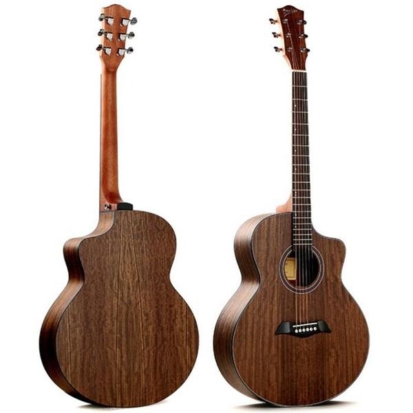 ☆唐尼樂器︵☆ Deviser LS-150N-40 40吋 胡桃木合板 木吉他 JF 桶身 缺角 民謠吉他