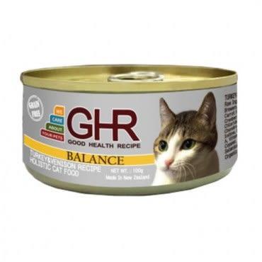 PREMIER 健康主義 GHR無榖火雞肉、鹿肉配方貓用主食罐 100G x 24入