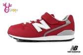 New Balance 996 中大童 慢跑鞋 大紅時尚 寬楦 輕量運動鞋 O8478#紅色◆OSOME奧森鞋業
