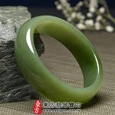 和田碧玉玉鐲(閃玉,俄羅斯碧玉,圓鐲18)RA016嚴選和闐玉,手工精雕,訂製珠寶。附玉石雙證書