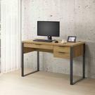 兩色可選【雅博德】工業風四尺書桌-附USB/DIY自行組合產品