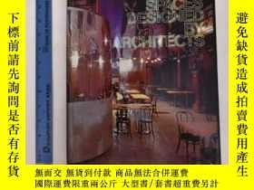 二手書博民逛書店Interior罕見Spaces Designed by Arc