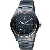 INDEPENDENT 潮流不敗 時尚腕錶 KB1-244-53 黑