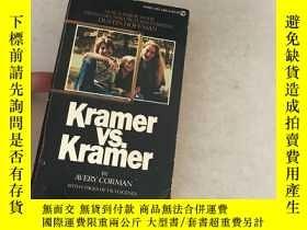 二手書博民逛書店kramer罕見vs kramer (with 8 pages
