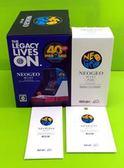 (專用機身裝飾貼紙+原廠保貼+手把顏色隨機X1) HDMI SNK 40 週年紀念遊戲機 NEOGEO mini