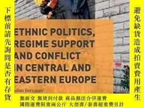 二手書博民逛書店Ethnic罕見Politics, Regime Support And Conflict In Central