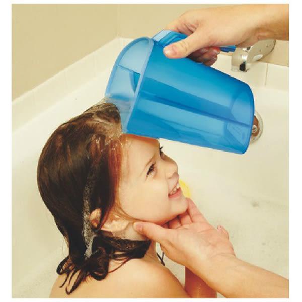 mothercare    寶寶不怕洗頭水杯(外觀有刮痕)-藍色/粉色