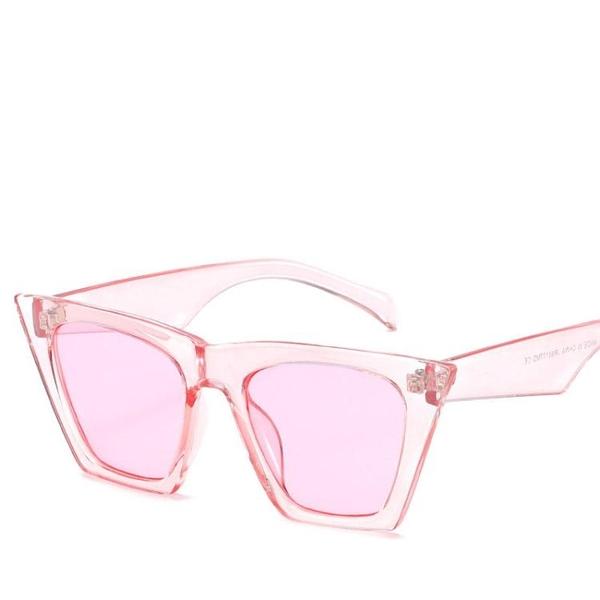 個性貓眼太陽鏡 時尚街拍墨鏡復古太陽眼鏡【五巷六號】y82
