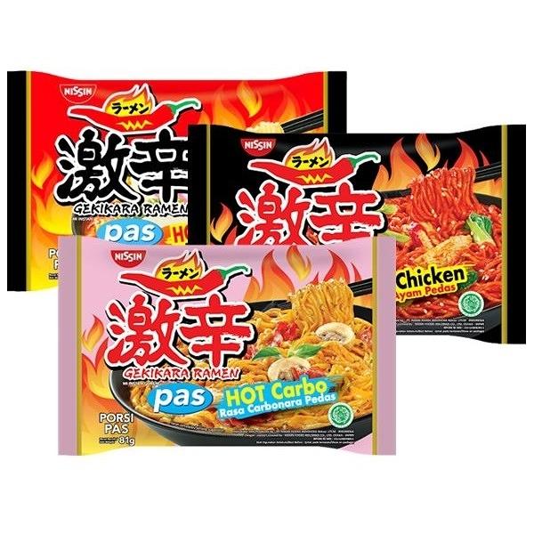 日清 激辣香菇/韓式激辣雞肉/激辛起司 風味麵(1包入) 款式可選【小三美日】
