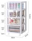 收納櫃 柜子抽屜式透明多層兒童玩具零食儲物柜廚房臥室收納箱整理盒TW【快速出貨八折搶購】