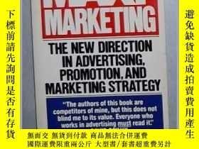 二手書博民逛書店英文原版罕見Maxi-marketing by Stan Rap