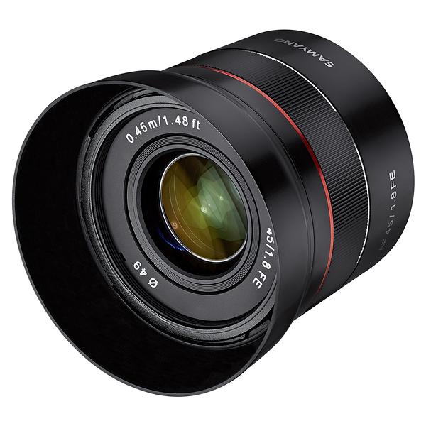 SAMYANG AF 45mm F1.8 FE 大光圈 餅乾鏡 自動對焦 For Sony FE E-Mount A7 正成公司貨 一年保固
