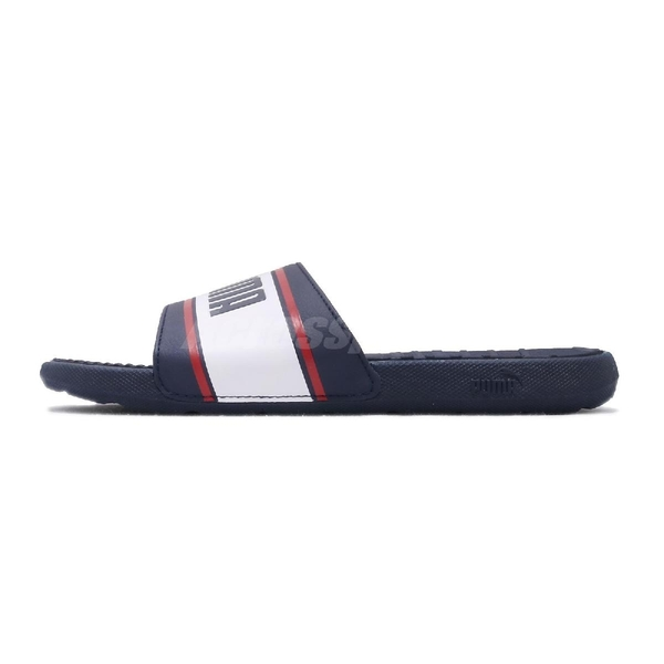 Puma 涼拖鞋 Cool Cat Sport Retro Mens 藍 白 男鞋 基本款 涼鞋 【ACS】 37384703