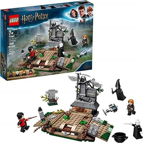 LEGO 樂高 Harry Potter and The Goblet of Fire The Rise of Voldemort 75965 Building Kit, New 2019 (184 Pieces)