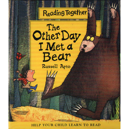【Reading Together】The Other Day I Met a Bear(1Book + 1CD)
